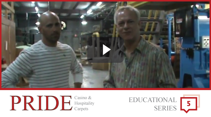 Pride Carpets Educational Series - Educational videos for understanding the carpet manufacturing industry